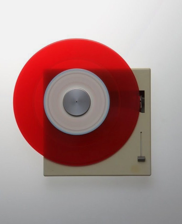 Braun P1 record player