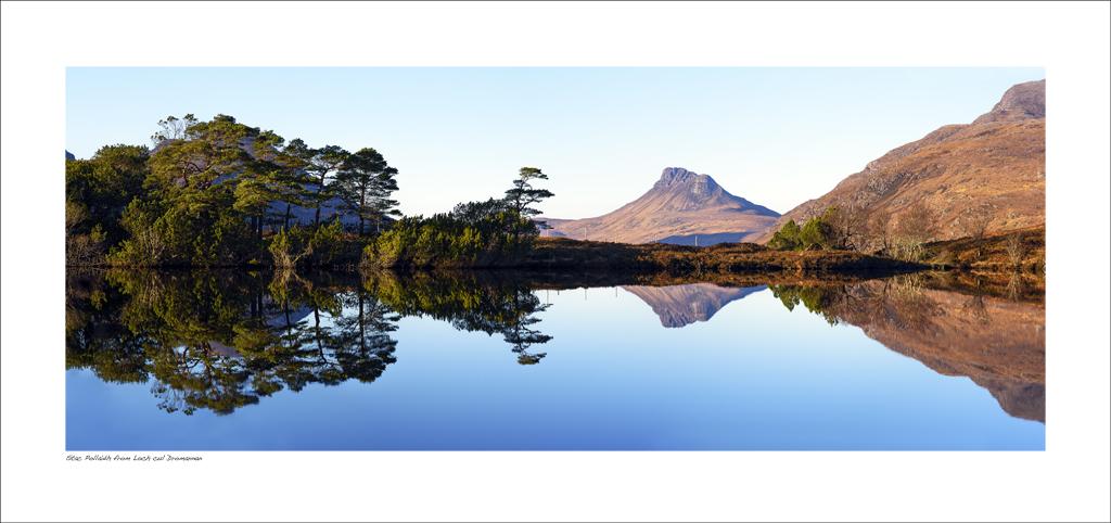 NWP_34_32. Stac Pollaidh from Loch cul Dromannan, Wester Ross