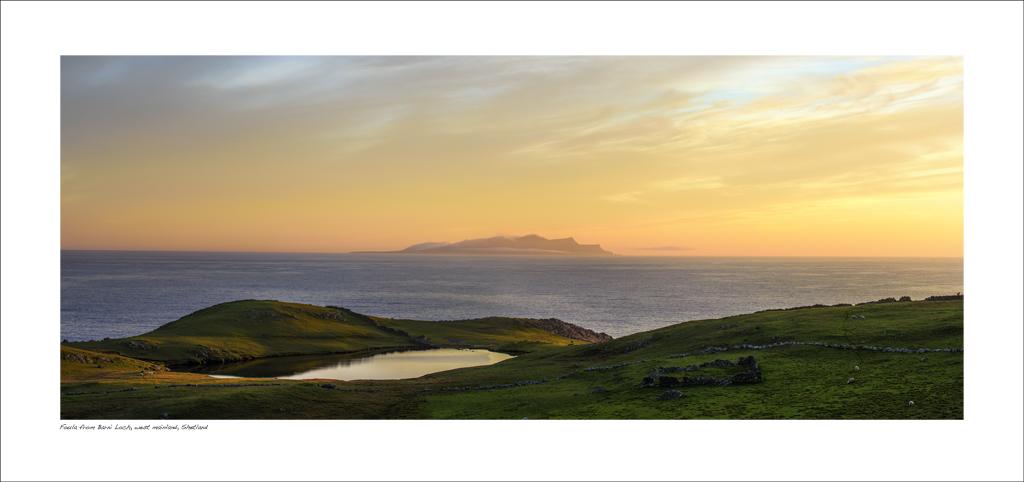 NWP_34_38. Foula from Barni Loch, west mainland, Shetland
