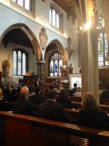 The Acts of Grace seminar was held at St Olave's Church in Hart Street London on 4th September 2014.