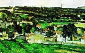 Cezanne's Auvers-Sur-Oise, stolen from the Ashmolean Museum in 2000