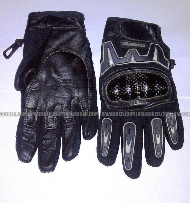 gloves after one year of use