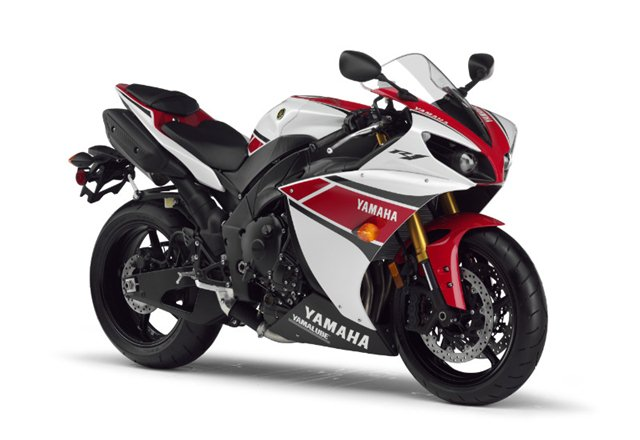 2012 yamaha r1 with traction control