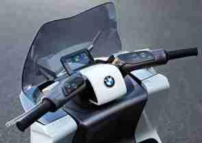 BMW concept e scooter 09