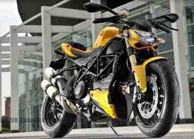 Ducati 848 Streetfighter EVO 09