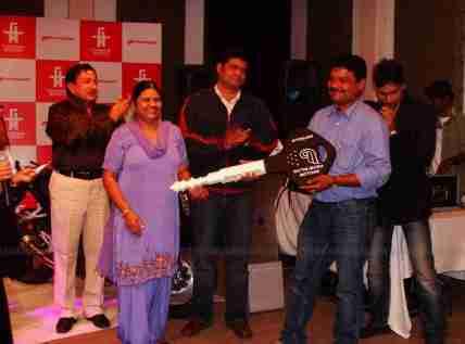 Hyosung Garware Bangalore 07Satya Mitra Motors