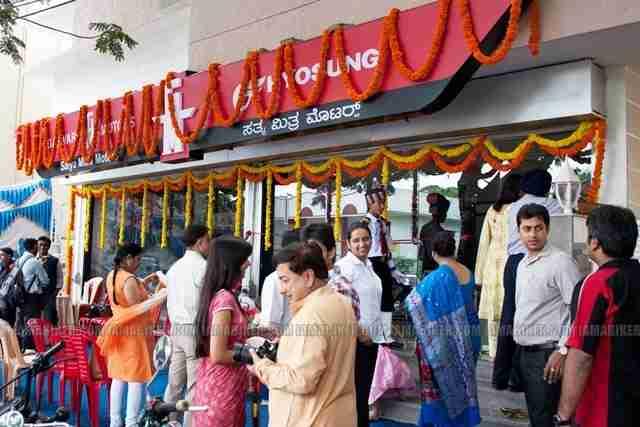 Hyosung Garware Motors Bangalore showroom launch 01