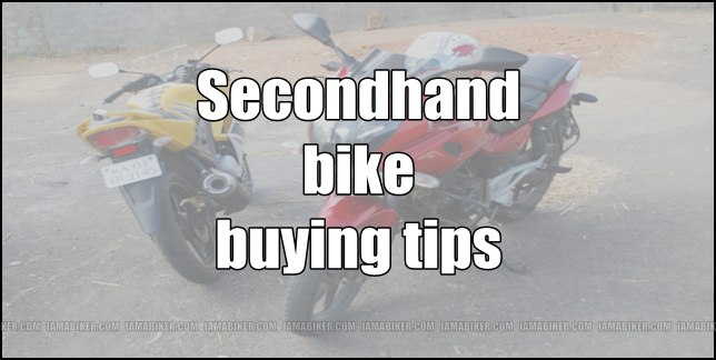 Second hand bike buying tips