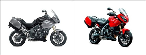 Triumph Tiger 1050 and Tiger 1050SE get upgraded