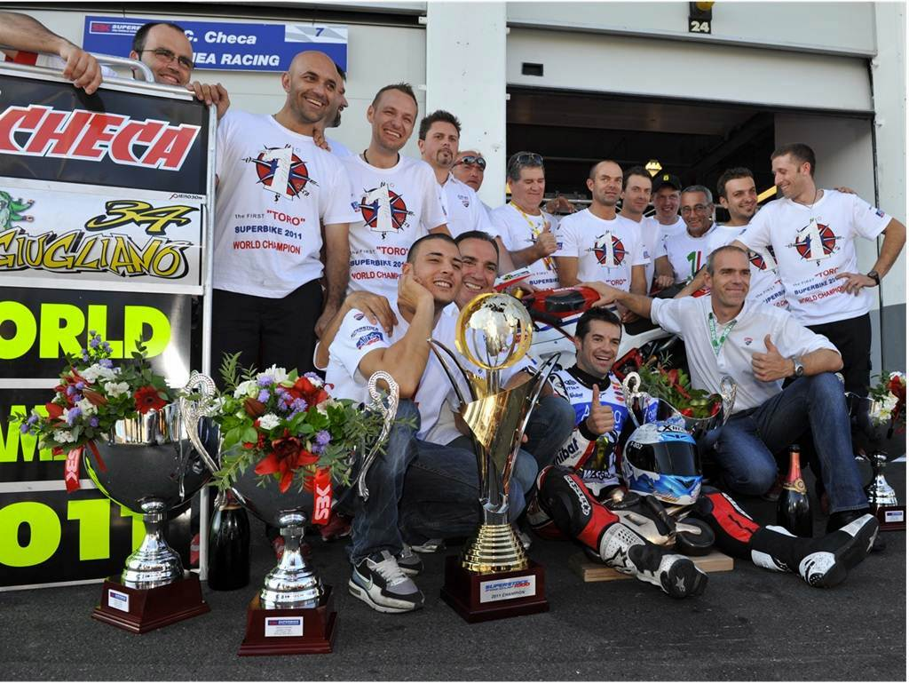 Carlos Checa and Team Althea take home the Manufacturers World Championship title