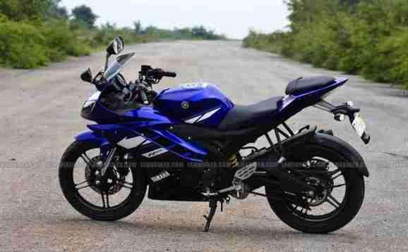New Yamaha R15 V2.0 2011 07