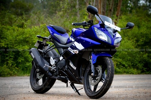 New Yamaha R15 V2.0 2011 09