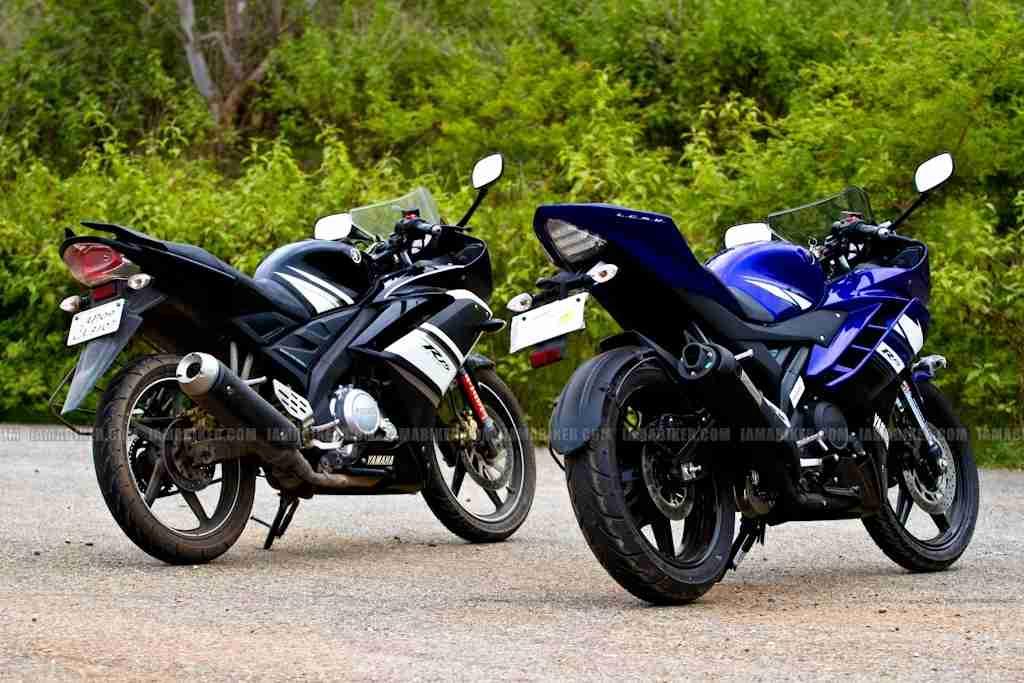 Yamaha R Version  Rear Tyre Price