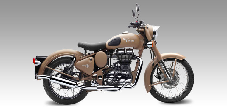 Royal Enfield Desert storm launched