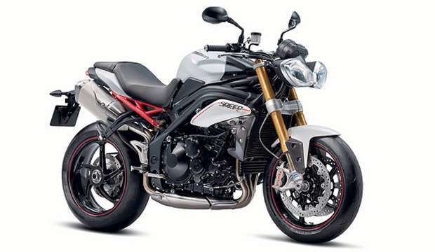 Triumph Speed Triple and Speed Triple R for 2012
