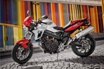 BMW F800R updated for 2012