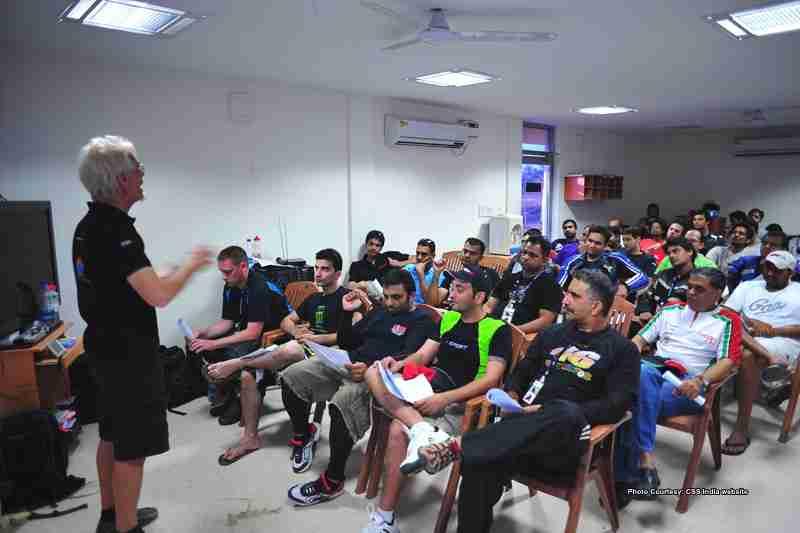 California Superbike School India 2012 dates announced 02 IAMABIKER