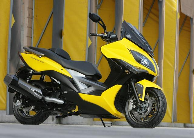 KYMCO Xciting 400i for 2012