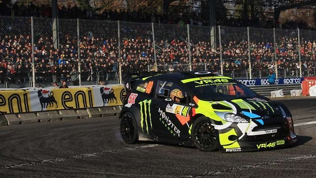Rossi second in Monza rally