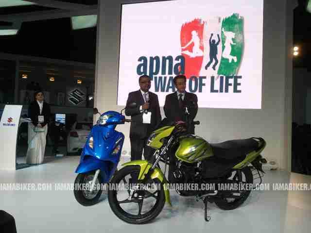 Suzuki Hayata and Storm Launch