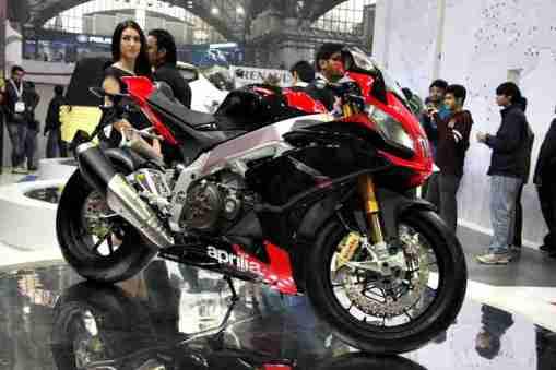 Aprilia - Piaggio Auto Expo 2012 India 17