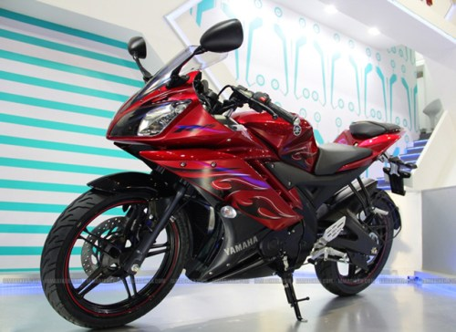 Yamaha R15 v2.0 Fiery Red Color