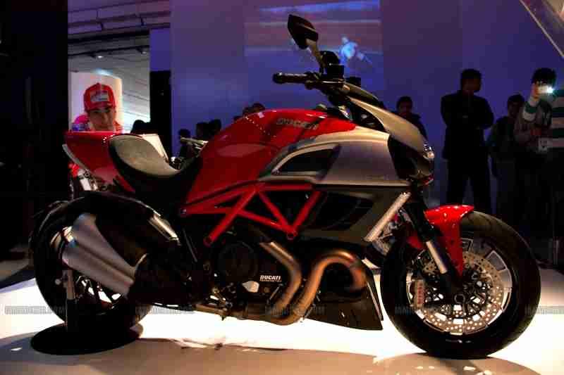 Ducati Auto Expo 2012 India 12