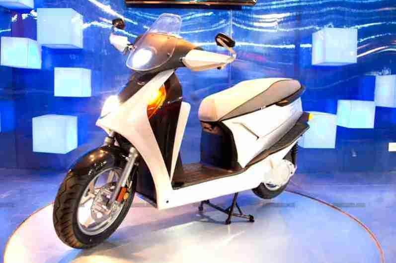 Hero Leap hybrid scooter