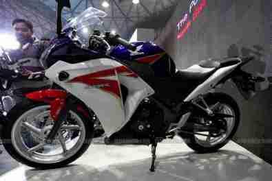 Honda CBR 250 HRC colours Auto Expo Delhi 04