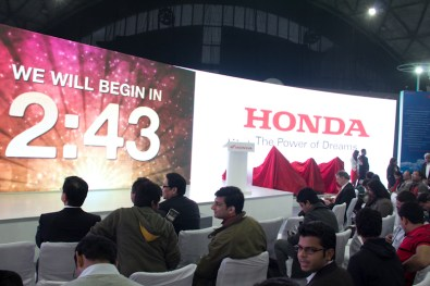 Honda Motorcycles Auto Expo 2012 India -1