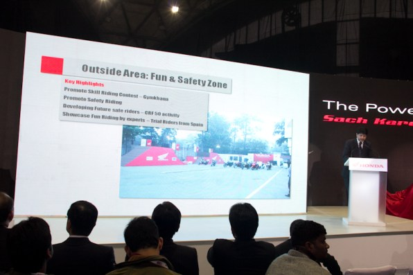 Honda Motorcycles Auto Expo 2012 India -11