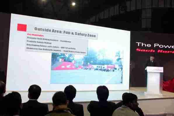 Honda Motorcycles Auto Expo 2012 India -11