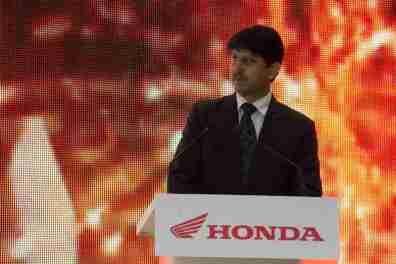 Honda Motorcycles Auto Expo 2012 India -15