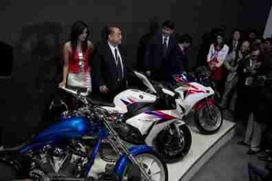 Honda Motorcycles Auto Expo 2012 India -19
