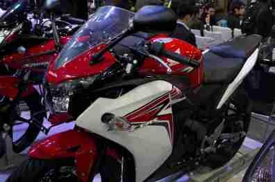 Honda Motorcycles Auto Expo 2012 India -24