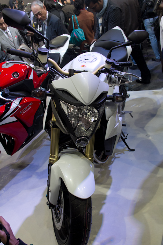 Honda Motorcycles Auto Expo 2012 India -30