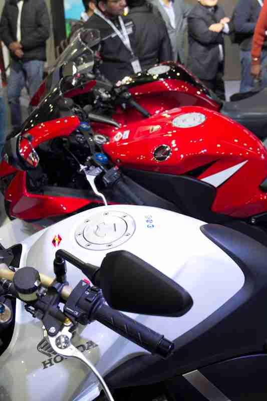 Honda Motorcycles Auto Expo 2012 India -33