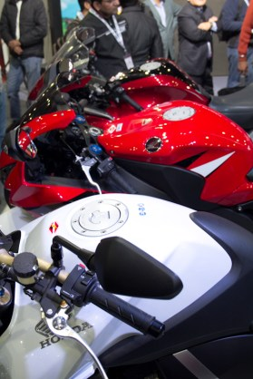 Honda Motorcycles Auto Expo 2012 India -33