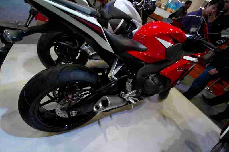 Honda Motorcycles Auto Expo 2012 India -43