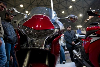 Honda Motorcycles Auto Expo 2012 India -46