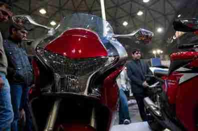 Honda Motorcycles Auto Expo 2012 India -46