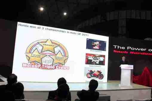 Honda Motorcycles Auto Expo 2012 India -6