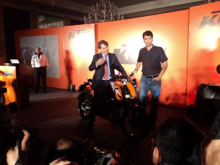 KTM Duke 200  price announced at 1.17 L