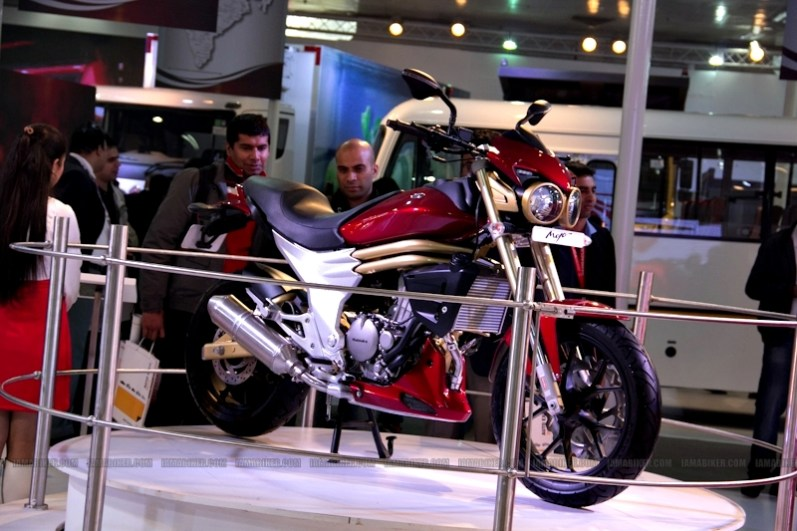 Mahindra 2 wheelers Auto Expo 2012 02