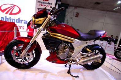 Mahindra 2 wheelers Auto Expo 2012 India 17