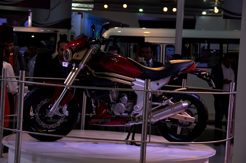 Mahindra 2 wheelers Auto Expo 2012 India 18