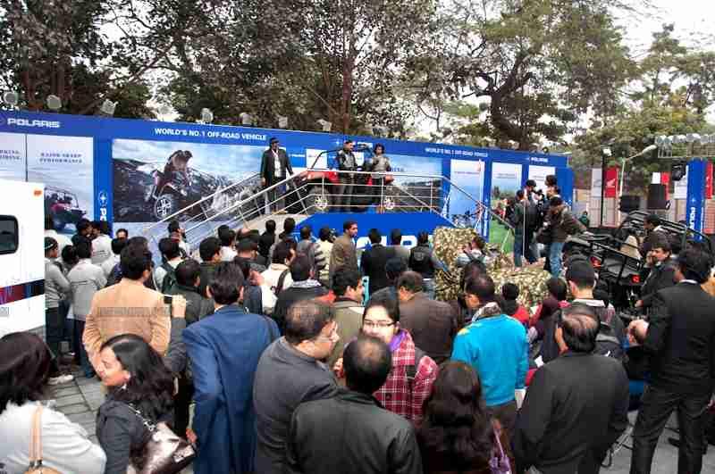 Polaris Auto Expo 2012 India 19