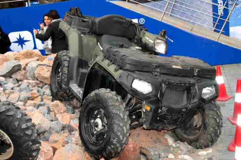 Polaris Auto Expo 2012 India 28