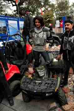 Polaris Auto Expo 2012 India 33