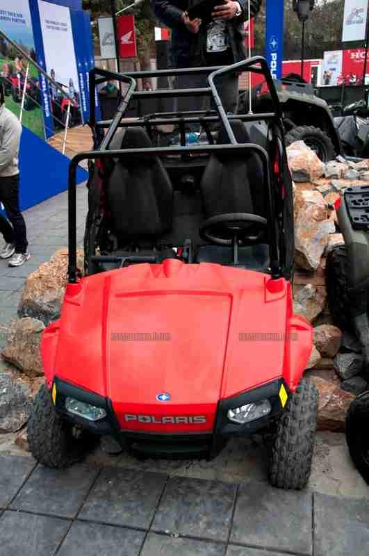 Polaris Auto Expo 2012 India 34